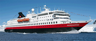 Photo of ms Nordnorge