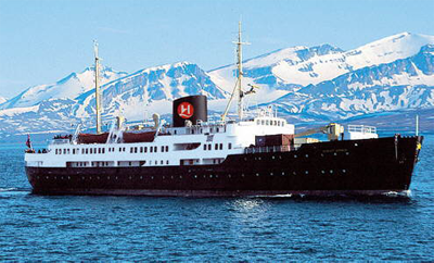 Photo of ms Nordstjernen