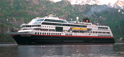 Photo of ms Trollfjord
