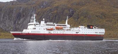 Photo of ms Vesteralen